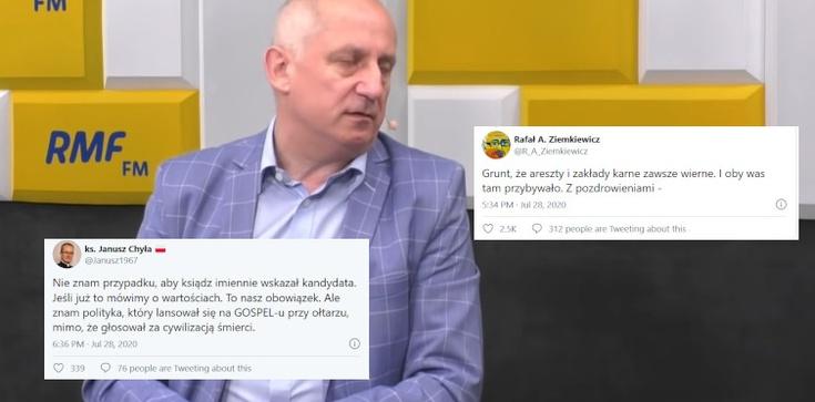 Internauci ripostują Neumanna. Głos zabrał ks. Janusz Chyła - zdjęcie
