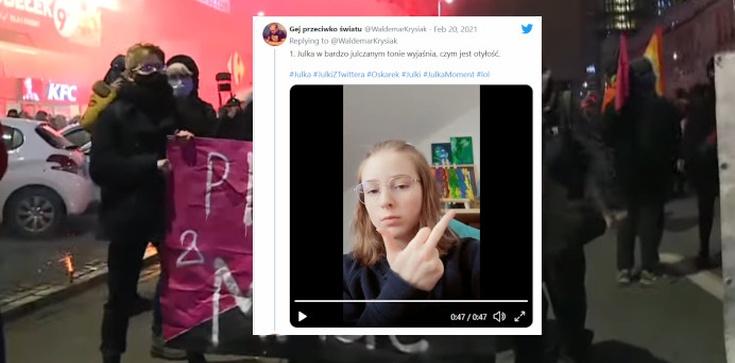Julka edukuje kolegów. ,,Pokaż to osobie pro-life''. Te argumenty powalają!  - zdjęcie