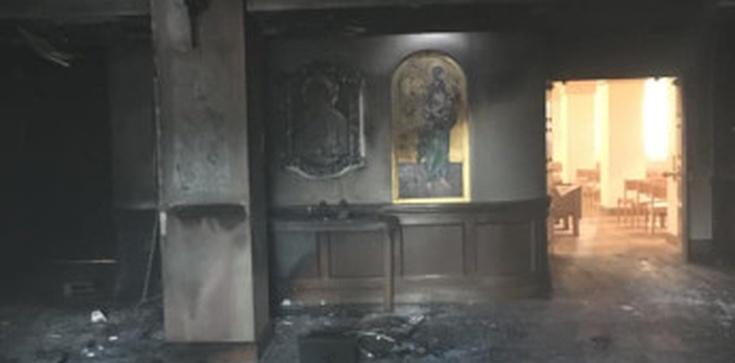 USA: Wjechał do kościoła samochodem i podpalił rozlaną benzynę - zdjęcie