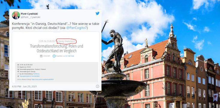 Gdańsk leży w… Niemczech. Tak twierdzą organizatorzy jednej z konferencji w Gdańsku  - zdjęcie