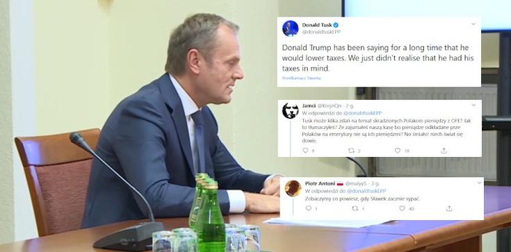 Tusk chciał zakpić z Trumpa. Internauci zakpili z Tuska - zdjęcie