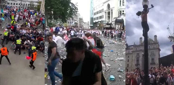"""[Wideo] Wembley. Chaos przed stadionem. UEFA odpowiada ws. """"epidemicznych"""" zarzutów polityków - zdjęcie"""