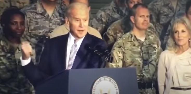 (Wideo) Joe Biden obraża amerykańskich żołnierzy - zdjęcie