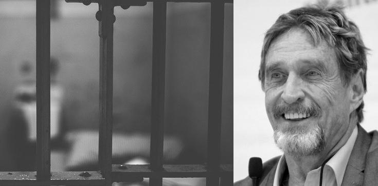 Twórca programu McAfee powiesił się w celi. W 2019 pisał: jeśli kiedyś popełnię samobójstwo, to nieprawda - zdjęcie