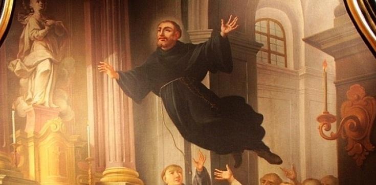 Niezwykły przypadek - latający święty! Święty Józef z Kupertynu - zdjęcie