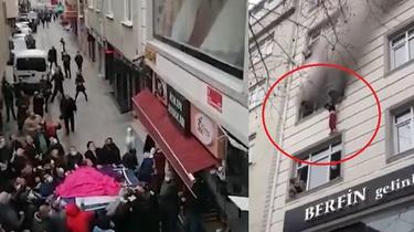Turcja. Chwile grozy. Matka wyrzuciła 4 dzieci przez okno, aby je ratować z pożaru [Wideo] - miniaturka