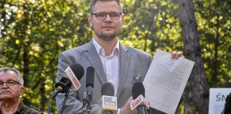 Minister Środowiska wypowiada wojnę śmiecącym w lasach  - zdjęcie