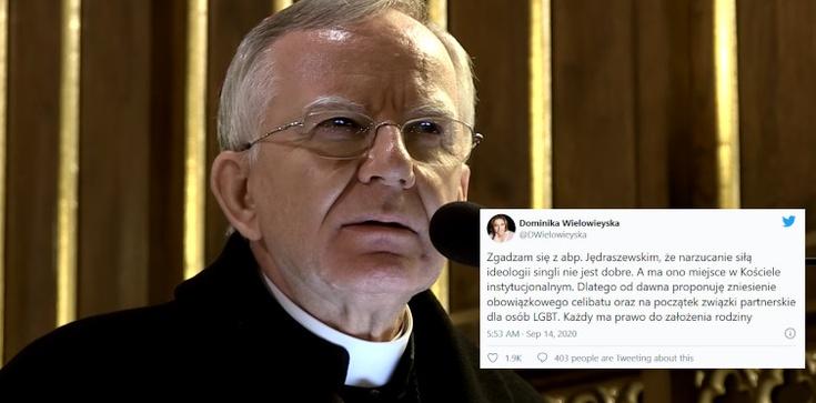 Naczelna teolożka ,,GW'' krytykuje abp. Jędraszewskiego  - zdjęcie