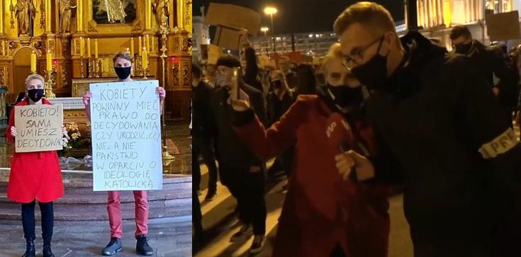 Zapraszała na demonstracje w środku pandemii. Katolików nazywa ,,siewcami śmierci''  - zdjęcie