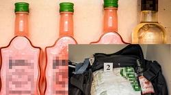 Przemycali amfetaminę w butelkach po alkoholach regionalnych. Staną przed sądem - miniaturka