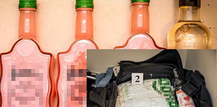 Przemycali amfetaminę w butelkach po alkoholach regionalnych. Staną przed sądem - zdjęcie