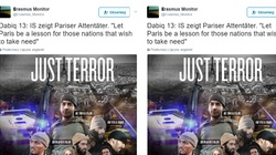Paryż kolejnym celem ISIS? Szokujące grafiki islamistów [ZOBACZ] - miniaturka