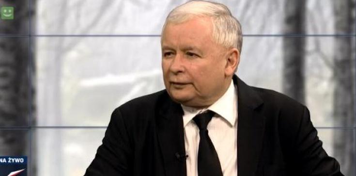 Kaczyński o kabarecie Komorowskiego - zdjęcie