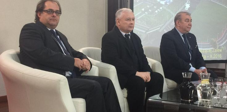 Kaczyński: Budowa kanału dowodzi suwerenności Polski - zdjęcie