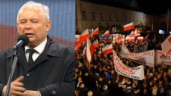 Musimy się ustrzec nienawiści! ZOBACZ całe przemówienie Jarosława Kaczyńskiego - miniaturka