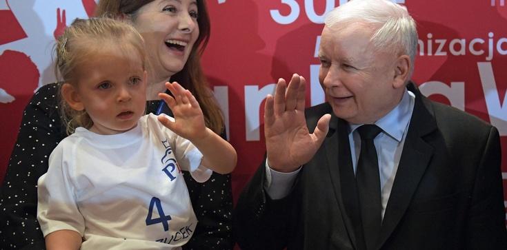 Jarosław Kaczyński: Rodzina jest fundamentem wszystkiego. Nie pozwolimy jej niszczyć - zdjęcie