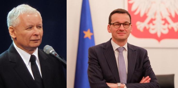 Jarosław Kaczyński: Chcę, by Morawiecki dalej był premierem - zdjęcie