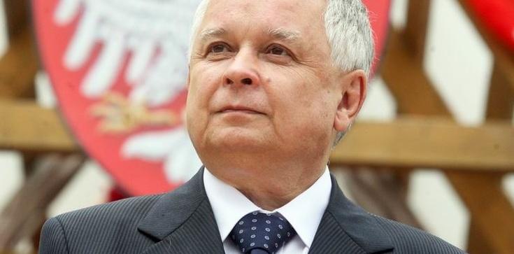 Śp. Lech Kaczyński: To nie my musimy odrobić lekcję pokory - zdjęcie