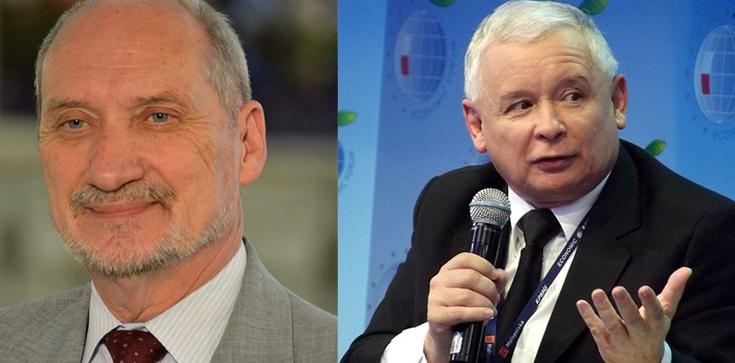 Macierewicz: Ojcem sukcesu szczytu NATO jest Jarosław Kaczyński - zdjęcie