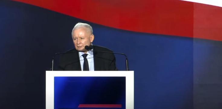 Prezes PiS na  na Zjeździe Republikańskim: ,,Wszyscy jesteśmy republikanami'' - zdjęcie