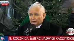 Jarosław Kaczyński: Zło dzisiaj atakuje Kościół, który jest w centrum naszej tożsamości. Trzeba to zło odrzucić - miniaturka