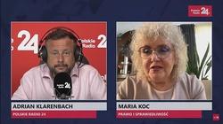 Maria Koc: Wg opozycji senackiej RPO ma się zajmować głównie polityką i walczyć z rządem - miniaturka