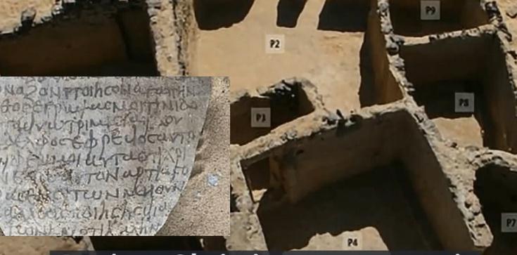 Egipt. Odkryto najstarszy chrześcijański klasztor na świecie - zdjęcie