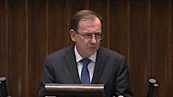 Gorąco w Sejmie! Szef MSWiA do opozycji: Wasze pseudo interwencje wnoszą tylko chaos - miniaturka