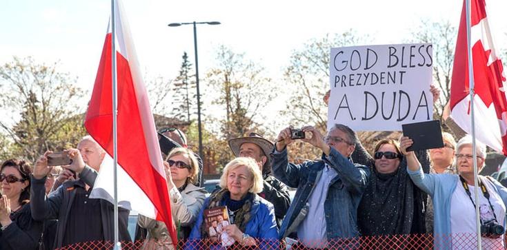Polonia w Kanadzie: Niech Bóg błogosławi prezydentowi Andrzejowi Dudzie - zdjęcie