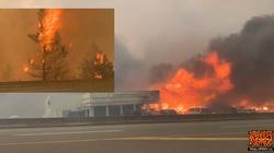 [Wideo] Kanada. Od upałów w 15 minut spłonęło miasteczko - miniaturka