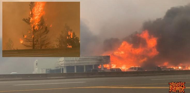 [Wideo] Kanada. Od upałów w 15 minut spłonęło miasteczko - zdjęcie