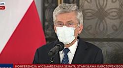 Stanisław Karczewski rezygnuje. PiS rekomenduje Marka Pęka na wicemarszałka Senatu - miniaturka