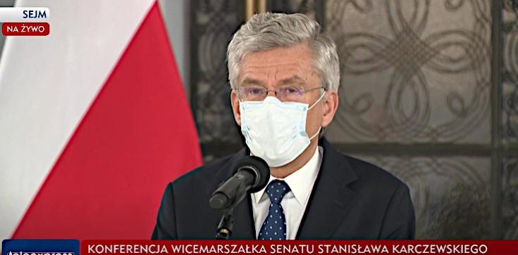 Stanisław Karczewski rezygnuje. PiS rekomenduje Marka Pęka na wicemarszałka Senatu - zdjęcie
