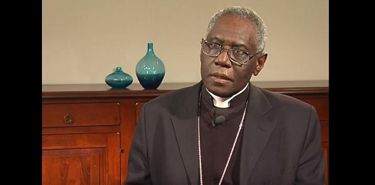 Kardynał Robert Sarah: Prawdziwe ubóstwo to brak Pana Boga - zdjęcie