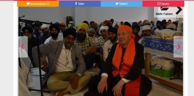 Co robił katolicki kardynał w świątyni Sikhów?  - zdjęcie