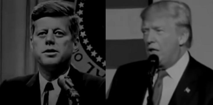 Przemówienia D. Trumpa i J.G Kennedy'ego. Dzieli je 55 lat, a co łączy? - zdjęcie