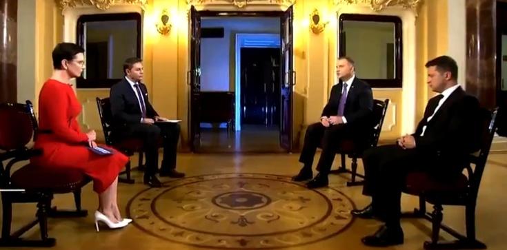 Prezydent Ukrainy: Chcę podziękować Polsce za wsparcie, które otrzymujemy  - zdjęcie