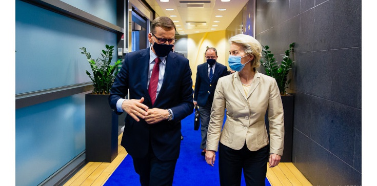 Morawiecki: rozmawialiśmy jak zamknąć temat praworządności, który niepotrzebnie psuje stosunki z UE - zdjęcie