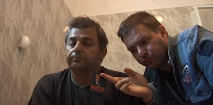 Trzaskowski i Karolak ,,dali nura'' do kibla - zdjęcie
