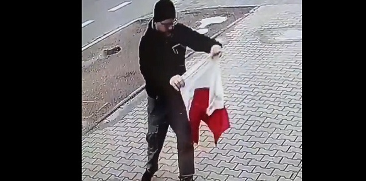 To nagranie podbija internet. Tak należy okazywać szacunek do polskiej flagi! - zdjęcie