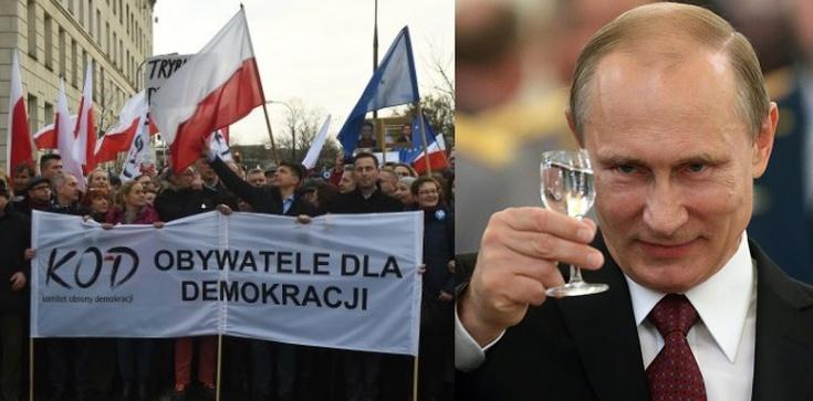 KODowicze już otwarcie na pasku Kremla - zdjęcie