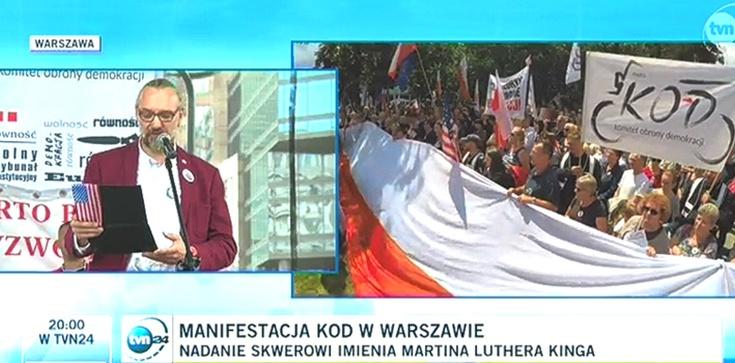 Wyborcza vs. TVN. Tak manipulują śmieszną liczbą uczestników manifestacji KOD - zdjęcie