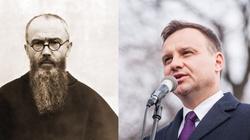 Andrzej Duda: Św. Maksymilian Kolbe był człowiekiem wielkiej wiary i bohaterem - miniaturka