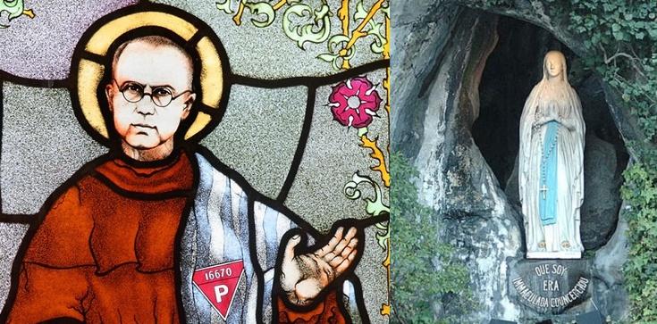 O. Maksymilian Kolbe: Objawienie w Lourdes - zdjęcie