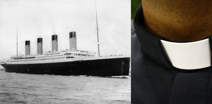 Polski ksiądz wśród pasażerów Titanica. Odstąpił swoje miejsce w szalupie  - zdjęcie