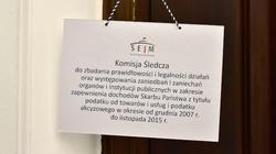 Pracowity tydzień komisji śledczej ds. VAT - miniaturka