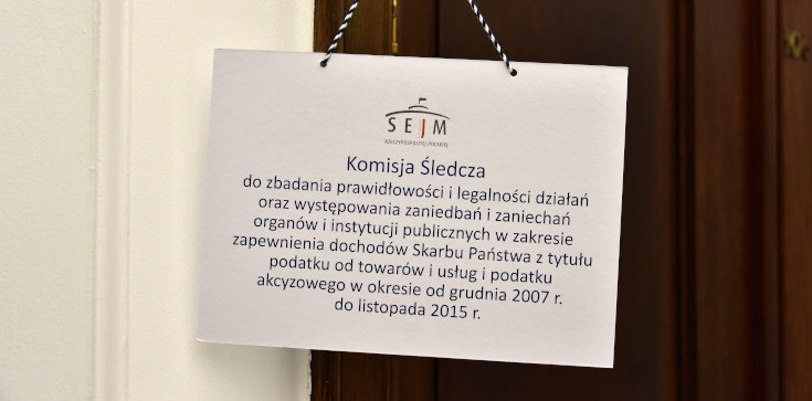 Komisja śledcza ds VAT przesłuchała kolejnych świadków - zdjęcie