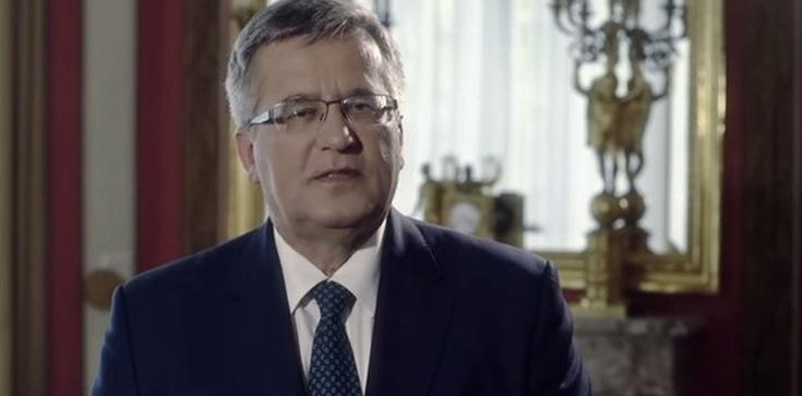 Już jest! Bronisław Komorowski włączył się w kampanię wyborczą PO - zdjęcie