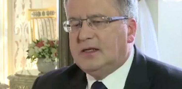 """""""Gęsiarka"""" wróciła do Pałacu Prezydenckiego. To piękny prezent w dniu urodzin Bronisława Komorowskiego, a Platforma krzyczy - zdjęcie"""