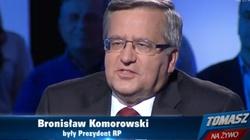 """Komorowski o """"biciu Judasza"""" w Pruchniku. Zaskakujące! - miniaturka"""